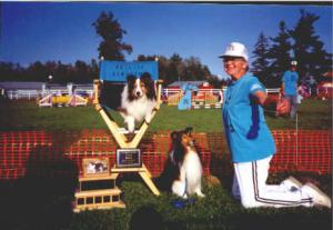 1998: Louise Jourdeuil & Trekker