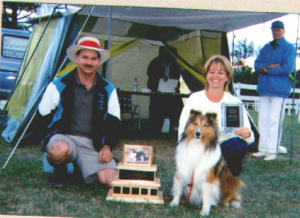 Penny Hewitt & Zachary 1999