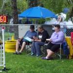 Darryl, Patricia & Ramona keeping score.